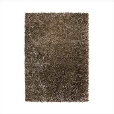 Tapis uni Cool Glamour Marron