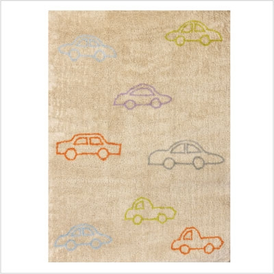 Tapis Voitures Multicolors