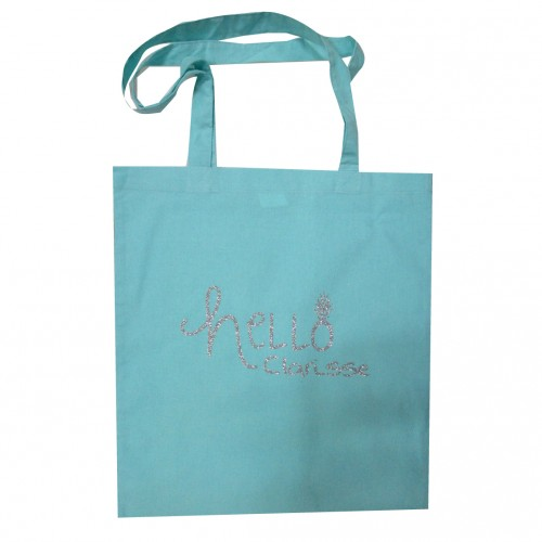 Tote bag Hello personnalisable