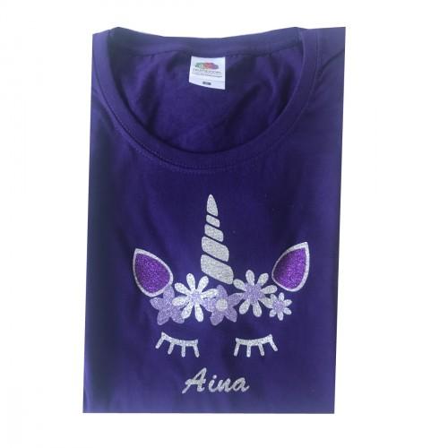 Tee shirt licorne Aina