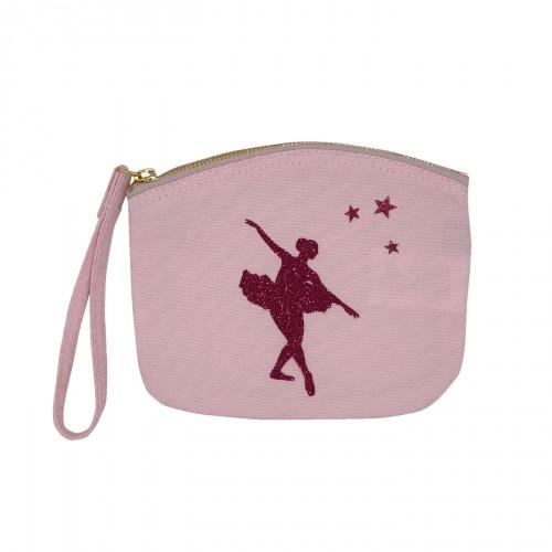 Pochette rose pâle danseuse étoile