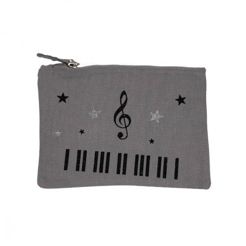Pochette grise piano