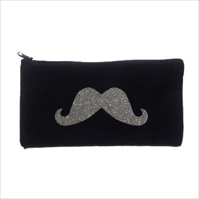 Trousse maître personnalisable noir moustache