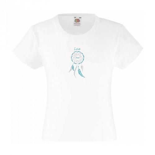 Tee-shirt enfant fille attrape rêves