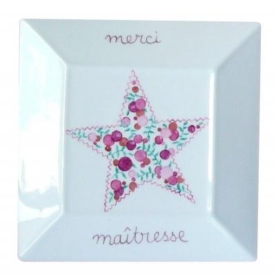 Vide-poche étoile liberty Merci Maîtresse