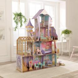Maison de poupée Château de serre enchanté