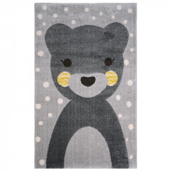 Tapis enfant ours Otto de Nattiot