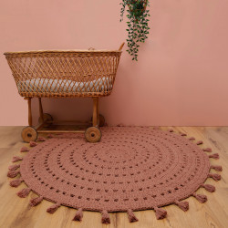 Tapis bébé coton lavable Nila liège de Nattiot