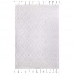 Tapis coton lavable Orlando blanc de Nattiot