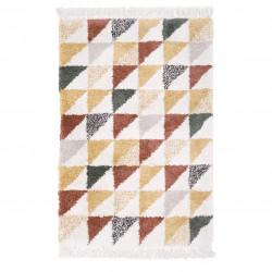 Tapis enfant rectangulaire motifs géométriques PURA de Nattiot