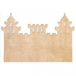 Tapis chateau beige
