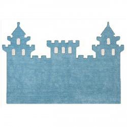 Tapis chateau bleu