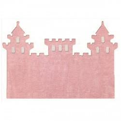 Tapis chateau rose