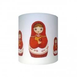 Applique poupées russes orange personnalisable