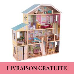 Maison de poupée Majestic - Kidkraft
