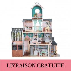 Maison de poupée avec véranda Celeste - Kidkraft