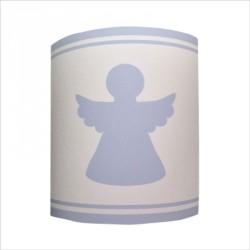 Abat jour ou Suspension  ange bleu personnalisable