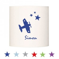 Abat jour ou Suspension avion star personnalisable