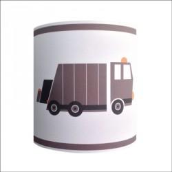 Abat jour ou Suspension camion poubelle personnalisable