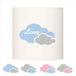 Abat jour ou Suspension double nuages personnalisable