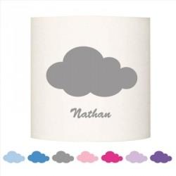 abat jour cylindriques nuages lili pouce stickers tapis luminaires personnalis s. Black Bedroom Furniture Sets. Home Design Ideas