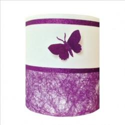 Abat jour ou Suspension papillon 3D violet