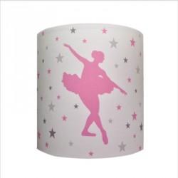 Abat jour Suspension danseuse petites étoiles personnalisable
