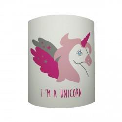 Applique lumineuse I' m a unicorn personnalisable