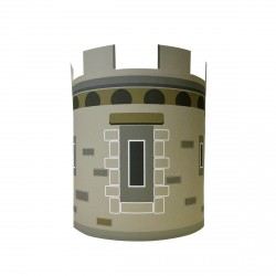 Applique la tour du chateau personnalisable
