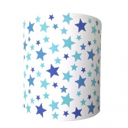 Applique étoiles bleu turquoise personnalisable