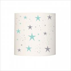 Applique lumineuse étoiles magiques menthe