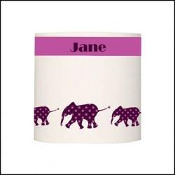Applique  trois elephants personnalisable