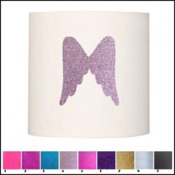 Applique ailes d'ange pailletée personnalisable