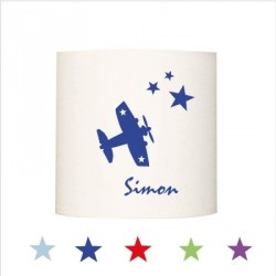 Applique avion star personnalisable