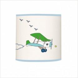 Applique lumineuse rendez vous des avions vert