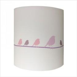 Applique oiseaux sur la branche personnalisable