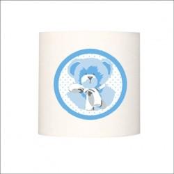 Applique ours bleu personnalisable