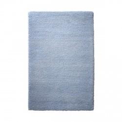 Tapis uni Trauminsel bleu en laine