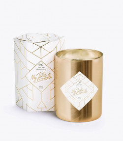 Bougie Gold Edition avec bracelet or