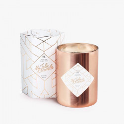 Bougie Rose Gold Edition avec collier