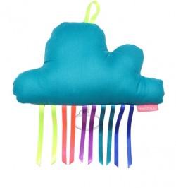 Boîte à musique nuage DUKE bleue