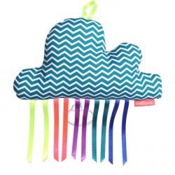 Boîte à musique nuage DUCKY bleue