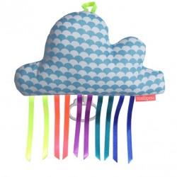 Boîte à musique nuage KAY bleu ciel