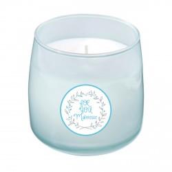 Bougie parfumée bleu maîtresse couronne For you personnalisable