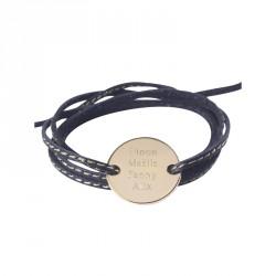 Bracelet Amazone Family - Plaqué or