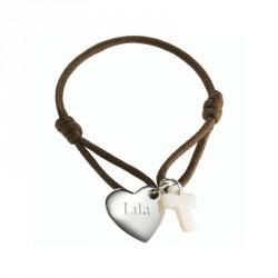 Bracelet Kids Coeur de croix