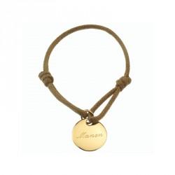 Bracelet Kids Médaille- plaqué or