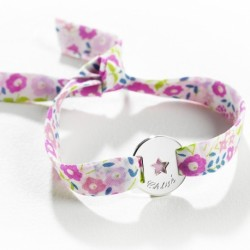 Bracelet Star Liberty Maman ou Enfant- argent