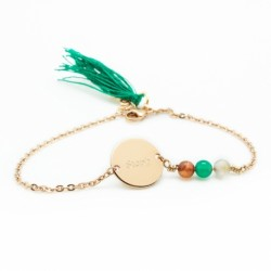 Bracelet Bahia - plaqué or