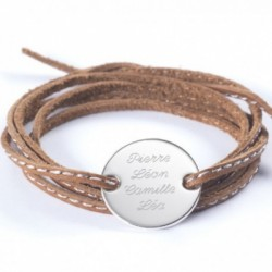 Bracelet Amazone Family - Argent